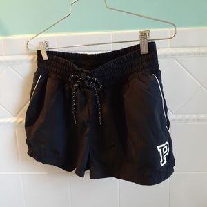 PINK VS Black Athletic Shorts NWOT
